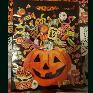Lot of 4 pieces Halloween Gift Bags from Papyrus